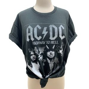 AC/DC NEW Highway To Hell Graphic T-Shirt Unisex M